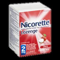 Nicorette 2mg Cherry Stop Smoking Aid Lozenges - 72 CT