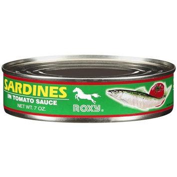 Roxy Sardines In Tomato Sauce, 7 oz