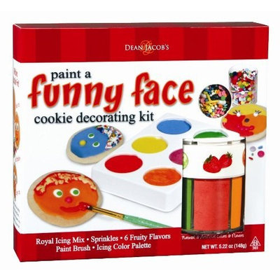 Dean Jacob's Dean Jacobs Funny Face Cookie Painting Kit, 5.5 Ounce (Pack of 3)