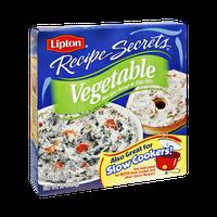 Lipton Recipe Secrets Vegetable Recipe Soup & Dip Mix 1.8 oz