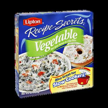 Lipton® Recipe Secrets Vegetable Recipe Soup & Dip Mix