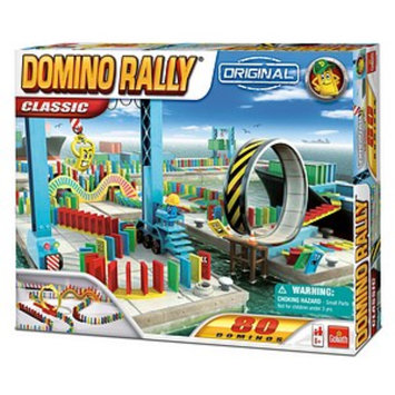 Goliath Games Domino Rally Classic Ages 6+, 1 ea