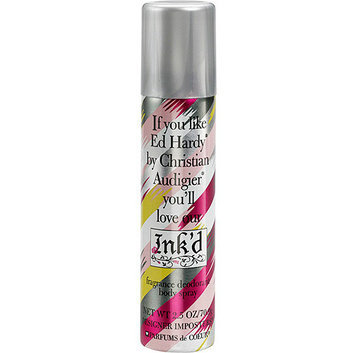 Designer Imposters Ink'd Fragrance Deodorant Body Spray