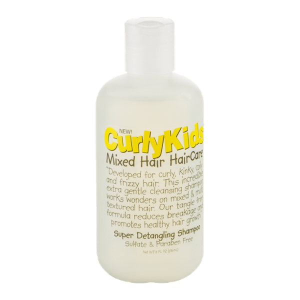 Curly Kids Mixed Hair Haircare Super Detangling Shampoo