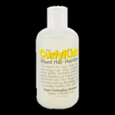 Curly Kids Mixed Hair Haircare Super Detangling Shampoo