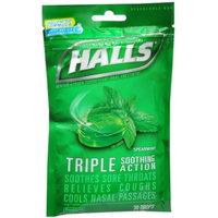 HALLS Spearmint Cough Menthol Drops