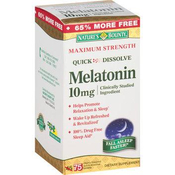 Nature's Bounty Melatonin Tablets