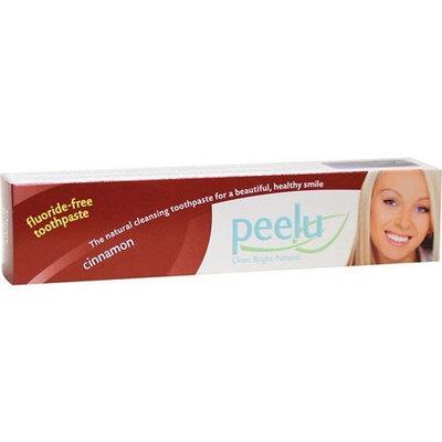 Peelu Toothpaste - Cinnamon - 3 Oz, 3 Ounce