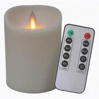 Veraflame E03568A-I Candle Moving Flam Ivory 4 in.