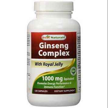 Ginseng Complex 1000 mg 120 Capsules By Best Naturals