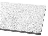 ARMSTRONG 1810 Ceiling Tile,48 sq. ft, White, PK12
