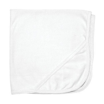 i play Organic Knitted Terry Hooded Towel, White
