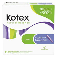 Kotex Security Super Absorbency Tampons