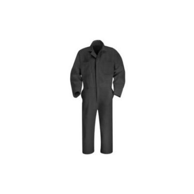 Red Kap 40 Men's Charcoal Long Sleeve Coveralls CT10CH LN 40