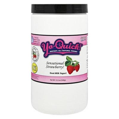 Mt Capra Products Mt. Capra Products Yo-Quick! Instant All-Natural Goat Milk Yogurt Sensational Strawberry - 12.2 oz