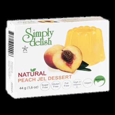 Simply Delish Natural Jel Dessert Peach
