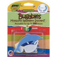 Pic BUG 5-Count Mosquito Repellent Stickers