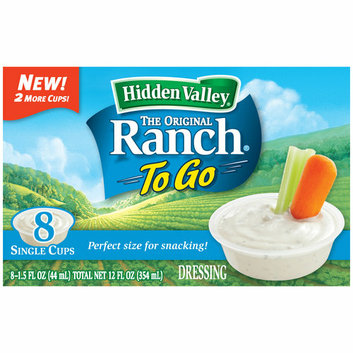Hidden Valley The Original Ranch to Go Salad Dressing