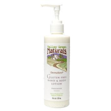 Valley Green Naturals DermaSens Gluten-Free Hand & Body Lotion, Unscented, 8 fl oz