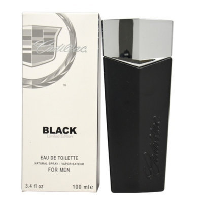 Cadillac Black Eau de Toilette Spray For Men, 3.4 fl oz