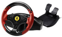 PS3 Ferrari Racing Wheel Red Legend Edition