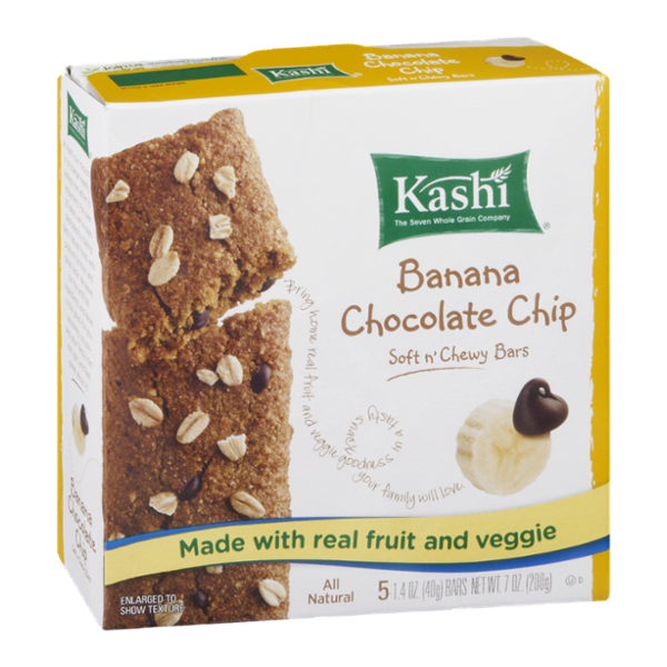 Kashi® Banana Chocolate Chip Soft n' Chewy Bars