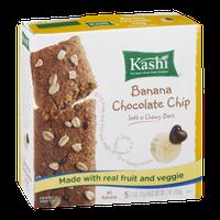 Kashi Banana Chocolate Chip Soft n Chewy Bars - 5 CT