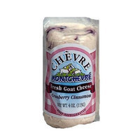 Fresh Goat Cheese Log Cranberry Cinnamon