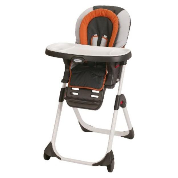 Graco DuoDiner LX Highchair - Orange/Gray