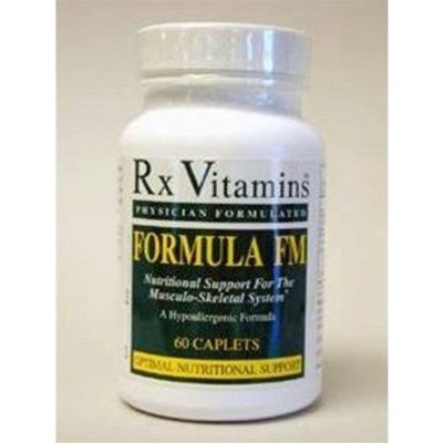 RX Vitamins - Formula FM 60 caps [Health and Beauty]