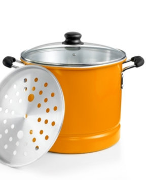 Imusa IMUSA 16 Qt. Covered Tamale Pot with Steamer Tray