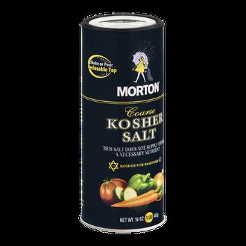 Morton Kosher Salt Coarse