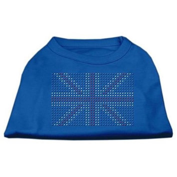 Ahi British Flag Shirts Blue Lg (14)