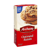Archway Homestyle Classic Soft Oatmeal Raisin Cookies
