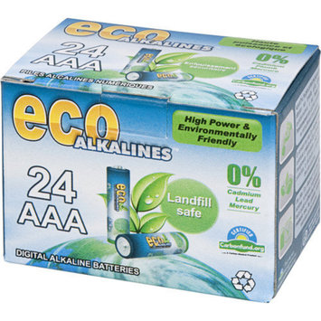 Eco Alkaline Eco Responsible Batteries AAA