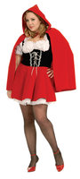 Rubies Costume Co 17435 Sexy Red Riding Hood Adult Plus Costume