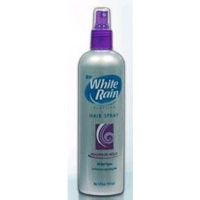 White Rain classic care non-serosol hair spray, maximum hold - 7 oz
