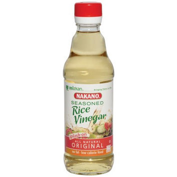 Nakano Vinegar, Rice, Seasoned, 12 FL OZ (Pack of 6)