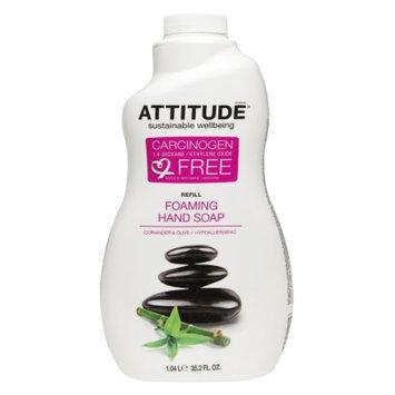 Attitude Foaming Hand Soap Refill, Coriander & Olive, 35.2 fl oz