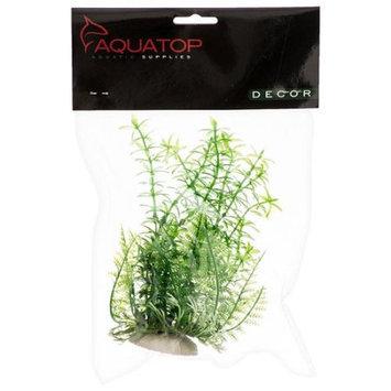 Aquatop Anacharis Aquarium Plant - Green: 9