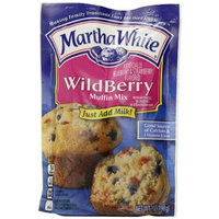 Martha White Muffin Mix, Wildberry, 7-Ounce Packages (Pack of 12)
