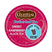 Green Mountain Coffee Green Mountain Sweet Raspberry Black Perfect Iced Tea, K-Cup Portion Pack for Keurig K-Cup Brewers, 24-Count