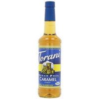 Torani Sugar-Free Syrup, Caramel, 25.4-Ounce Bottles (Pack of 3)