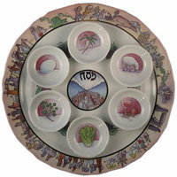 Core Distribution Exodus Seder Plate
