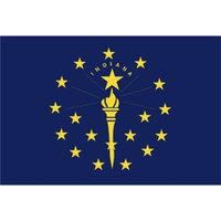 Annin Indiana State Flag - 3' x 5'