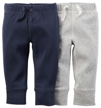 Carter's 2-Pack Cuffed Pant in in Navy/Grey