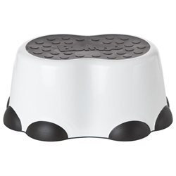 Bumbo Toddler Step Stool - White/Black B10105