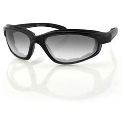 Zan Headgear EFB001 Fat Boy Photochromic Black Frame Photogray Anti-Fog Lenses