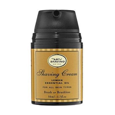 The Art of Shaving Shaving Cream Pump-Lemon-1.75 oz.