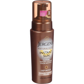 Jergens® Natural Glow® Instant Sun™ Sunless Tanning Mousse